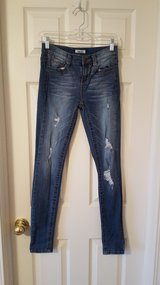 Girls Junior Size 1 Jeans in Naperville, Illinois
