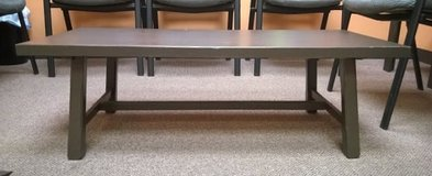 coffee table and side table set brown wood in Lockport, Illinois
