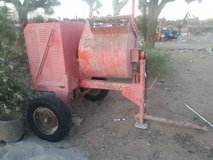 Cement Mixer w/on Trailer in Yucca Valley, California