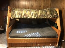 Bunk bed with new mattress in Lake Charles, Louisiana
