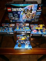 Wii U LEGO dimensions + bonus packs in Fort Drum, New York