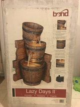 Never Used Bond Lazy Days II Outdoor Fountain w/ Lights in Camp Lejeune, North Carolina