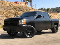2008 Silverado blacked out in Oceanside, California