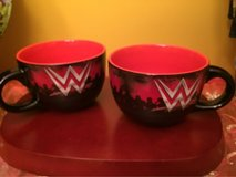 Wonder Woman soup/cereal mugs bowls in Morris, Illinois
