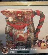 Christmas pitcher in Fort Campbell, Kentucky