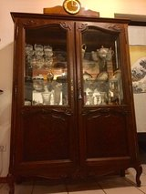 Chippendale Style Display Cabinet / Vintage French China Cabinet in Ramstein, Germany