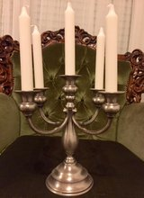 Candelabra, French Etaine 5-arm Candle Holder. in Ramstein, Germany