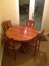 Multi York extending table and six chairs in Lakenheath, UK