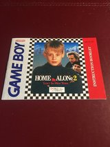 Nintendo Game Boy Home Alone 2 Instruction Booklet in Lockport, Illinois