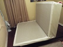 Queen Size Foldable Box Spring & Adjustable Frame! in Camp Lejeune, North Carolina