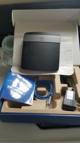 Linksys E2500 Dual N Band Router in DeKalb, Illinois