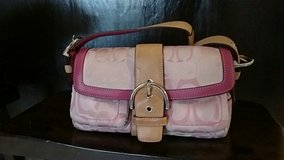 Cute Pink Coach Purse in Bellaire, Texas