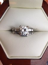 ***Lady's Round Diamond Engagement and Wedding Ring Set*** in Quantico, Virginia