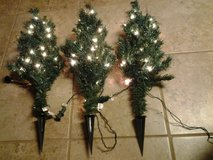 "27"" Prelit Artificial Christmas Pathway Trees (price each) in Eglin AFB, Florida"