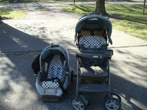 Stroller and Car Seat with base in Spring, Texas