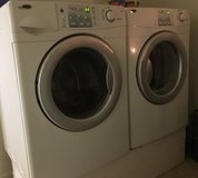 Amana front load washer and dryer in Fairfield, California