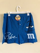M & M's lounge shorts in Plainfield, Illinois
