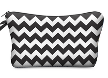 Chevron Print Cosmetic Bag in Fort Campbell, Kentucky
