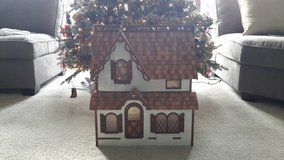 Vintage Handmade wooden dollhouse in Tinley Park, Illinois