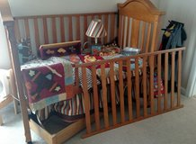Crib/Toddler Bed w/ Trundle + Crib Set DEAL in Fort Campbell, Kentucky