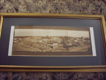 Large framed Panorama Photo of Mountain Home 1906 in Mountain Home, Idaho