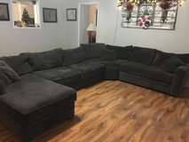 4 piece grey sectional in The Woodlands, Texas