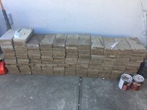 Rectangle cement pavers in Travis AFB, California