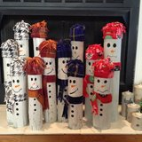 Wooden Snowmen sets of 3 in Perry, Georgia