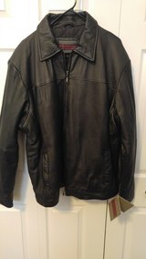 Men's 3x leather jacket. New unworn in bookoo, US