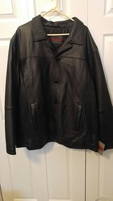 Men's Excelled 4x leather button front coat in Bolingbrook, Illinois
