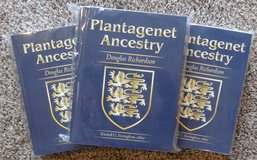 PLANTAGENET ANCESTRY - (2011) Expanded Second Edition - All Three Volumes - By Douglas Richardson in Fort Leonard Wood, Missouri