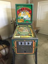 Vintage Ballys Odds and Evens Pinball machine in Yucca Valley, California