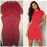 Red studded bodycon dress (BRAND NEW) in Fort Irwin, California
