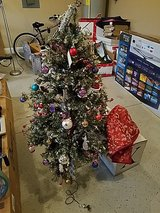 x mas tree in Fort Campbell, Kentucky