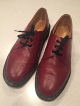 Dr Martins, size 6 maroon in Lockport, Illinois