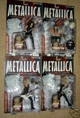 McFarlane Harvesters of Sorrow Metallica Figure Set of 4 Individually Carded NOT Mint in Hohenfels, Germany