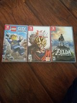 Nintendo switch games in Camp Lejeune, North Carolina