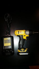 DeWALT 12v Drill with Charger in Fort Leonard Wood, Missouri