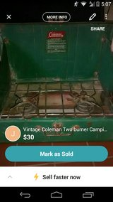 Vintage Coleman Two burner Camping Stove in 29 Palms, California