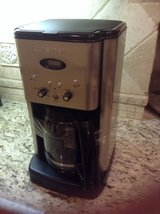 Cuisinart Coffee maker brushed stainless 12 cup programmable in Kingwood, Texas