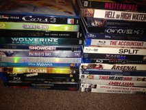 New movies DVD/blue ray/ digital in Yucca Valley, California