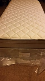 Twin Mattress with box spring in Lawton, Oklahoma