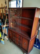 Mahogany Mid Century Modern China Cabinet in Westmont, Illinois