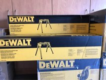 Dewalt Double Bevel Compound Miter Saw with Stand in Luke AFB, Arizona