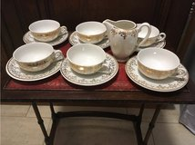 antique Sarreguemines France little coffee set 6P in Ramstein, Germany