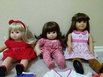 *****AMERICAN GIRL DOLLS LOT *** EXCELLENT CONDITION !!! in Kingwood, Texas