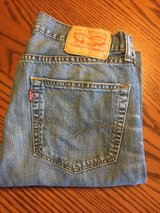 Men's Levis 505 jeans in Glendale Heights, Illinois