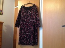Brown and black  and pink dress or long top in Lakenheath, UK
