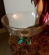 Holiday Season Glass Bowl in Perry, Georgia