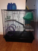Three story rat cage + accessories in Warner Robins, Georgia